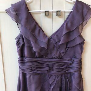 David's Bridal Mother of the Bride Lavender Dress